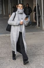 BLANCA PADILLA Out and About in New York 02/08/2018