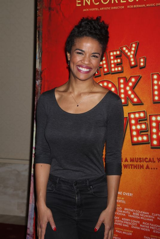 BRITNEY COLEMAN at Encores Hey, Look Me Over! Closing Night Party 02/12/2018