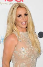 BRITNEY SPEARS at Hollywood Beauty Awards in Los Angeles 02/25/2018