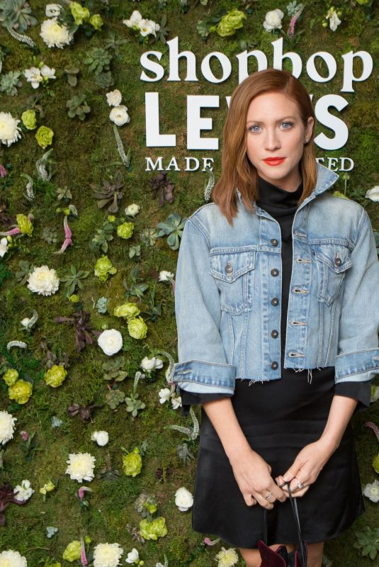 BRITTANY SNOW at Shopbop + Levi