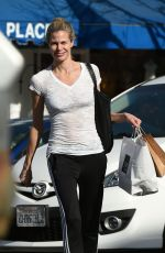 BROOKE BURNS Out Shopping in Los Angeles 02/02/2018