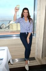 BROOKE SHIELDS at Brooke Shields Timeless QVC Clothing Line Launch Party in New York 02/21/2018