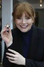 BRYCE DALLAS HOWARD at New York Toy Fair 02/16/2018