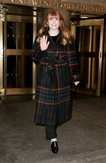 BRYCE DALLAS HOWARD Leaves Today Show in New York 02/16/2018
