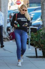 BUSY PHILIPPS in Jeans Out in Los Angeles 02/16/2018