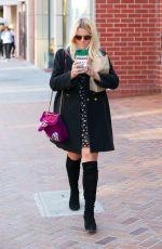 BUSY PHILIPPS Out and About in Beverly Hills 02/26/2018