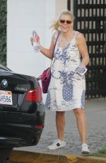 BUSY PHILIPPS Out in Beverly Hills 02/08/2018