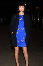 CAITRIONA BALFE Arrives at Late Late Show in Dublin 02/16/2018