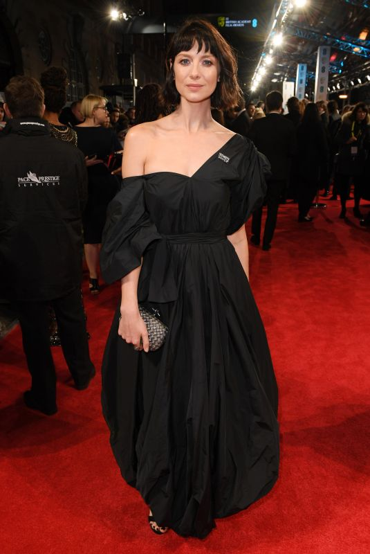CAITRIONA BALFE at BAFTA Film Awards 2018 in London 02/18/2018