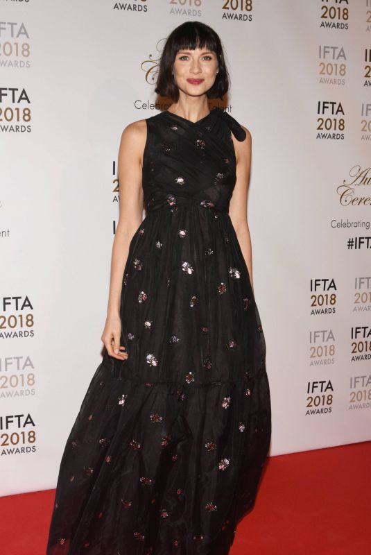 CAITRIONA BALFE at IFTA Film & Drama Awards 2018 in Dublin 02/15/2018