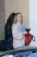 CAMERON DIAZ Leaves Montage Hotel in Beverly Hills 02/12/2018