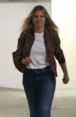 CAMERON DIAZ Out and About in Beverly Hills 02/02/2018