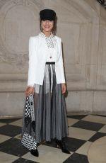 CAMILA COELHO at Christian Dior Show at Paris Fashion Week 02/27/2018