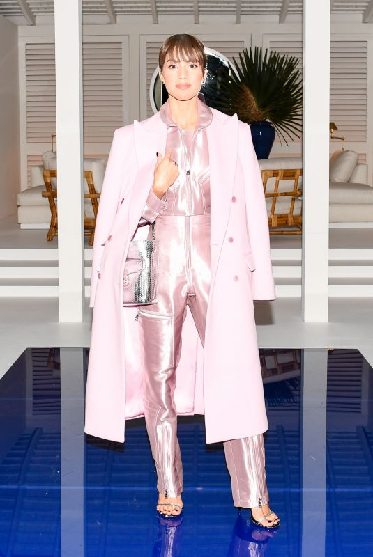 CAMILA COELHO at Ralph Lauren Show at New York Fashion Week 02/12/2018