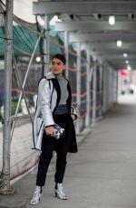CAMILA COELHO Out at New York Fashion Week 02/09/2018