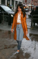 CAMILLA CABELLO Arrives at BBC Radio in London 02/19/2018