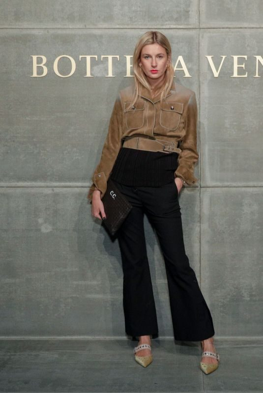 CAMILLE CHARRIERE at Bottega Veneta Show at New York Fashion Week 02/09/2018