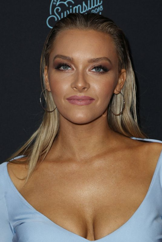 CAMILLE KOSTEK at Sports Illustrated Swimsuit Issue 2018 Launch in New York 02/14/2018