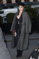 CARA DELEVINGNE Out and About in Paris 02/27/2018