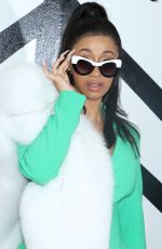 CARDI B at Christian Siriano Fashion Show at NYFW in New York 02/10/2018