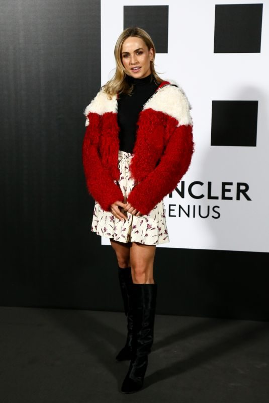 CARMEN JORDA at Moncler Genius Project at Milan Fashion Week 02/20/2018