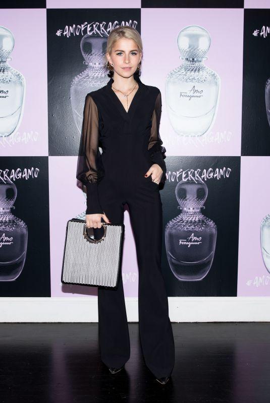 CAROLINE DAUR at Amo Ferragamo Hosted by Suki Waterhouse at New York Fashion Week 02/06/2018