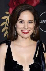 CAROLINE DHAVERNAS at Unreal and Mary Kills People Party in Los Angeles 02/13/2018