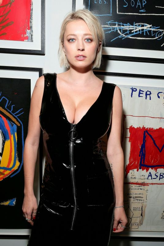 CAROLINE VREELAND at Sandra Choi and Virgil Abloh Host NYFW Dinner in New York 02/11/2018