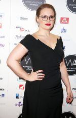 CARRIE HOPE FLETCHER at Whatsonstage Awards in London 02/25/2018