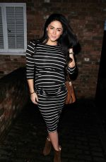 CASEY BATCHELOR at La Sala Restaurant in Chigwell 02/20/2018