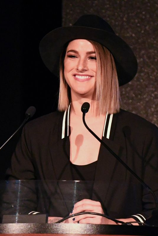 CASSADEE POPE at CRS 2018 Artisit Humanitarian Award and Tom Rivers Award in Nashville 02/05/2018