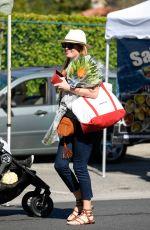 CAT DEELEY Shopping at Farmer