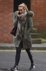 CATHERINE TYLDESLEY Out and About in Manchester 02/08/2018