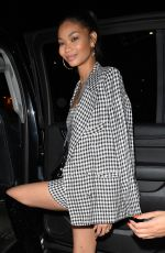 CHANEL IMAN Leaves Nike x Revolve Party in West Hollywood 02/15/2018