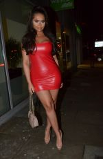 CHANELLE MCCLEARY and Jsky Night Out in Manchester 02/04/2018