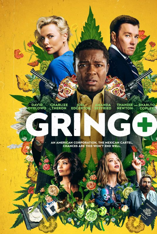 CHARLIZE THERON, AMANDA SEYFRIED and THANDIE NEWTON - Gringo Movie Stills and Posters