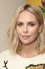CHARLIZE THERON at Gringo Photocall in Los Angeles 02/24/2018