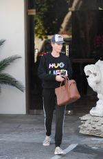 CHARLIZE THERON Leaves a Korean Spa in Koreatown 02/07/2018