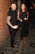 CHARLOTTE CROSBY Arrives at Valentine's Party at Libertine Nightclub in London 02/08/2018