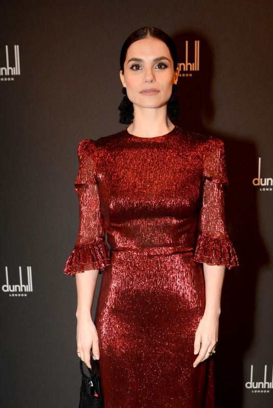 CHARLOTTE RILEY at Dunhill and GQ Pre-bafta Filmmakers Dinner Party in London 02/15/2018