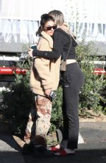 CHATEL JEFFIRE Out for Lunch at Taste in West Hollywood 02/12/2018
