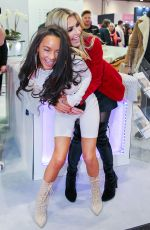 CHELSEA HEALEY at Professional Beauty Exhibition in London 02/25/2018