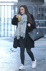 CHER LLOYD Arrives at ITV Studios in London 02/28/2018