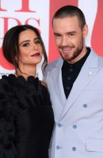 CHERYL COLE and Liam Payne at Brit Awards 2018 in London 02/21/2018