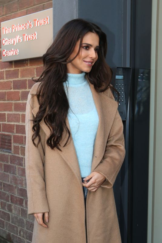 CHERYL COLE Arrives at Prince