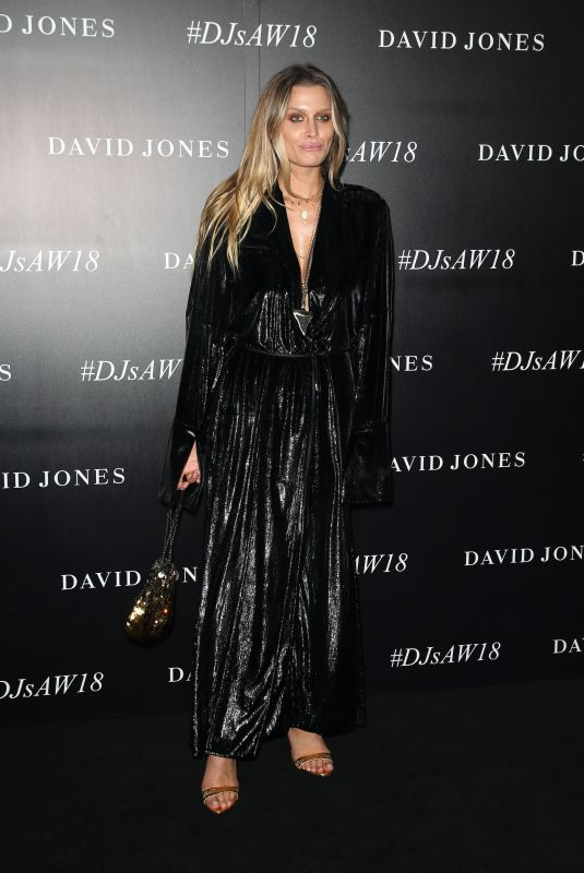 CHEYENNE TOZZI at David Jones Autumn/Winter 2018 Collections Launch in Sydney 02/07/2018
