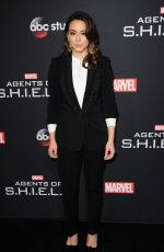 CHLOE BENNT at Agents of S.H.I.E.L.D. 100th Episode Celebration in Hollywood 02/24/2018