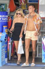 CHLOE FERRY and Sam Gowland out Shopping on Gold Coast in Australia 02/21/2018