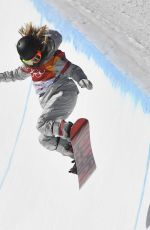 CHLOE KIM at Pyeongchang 2018 Winter Olympic Games at Phoenix Snow Park 02/13/2018