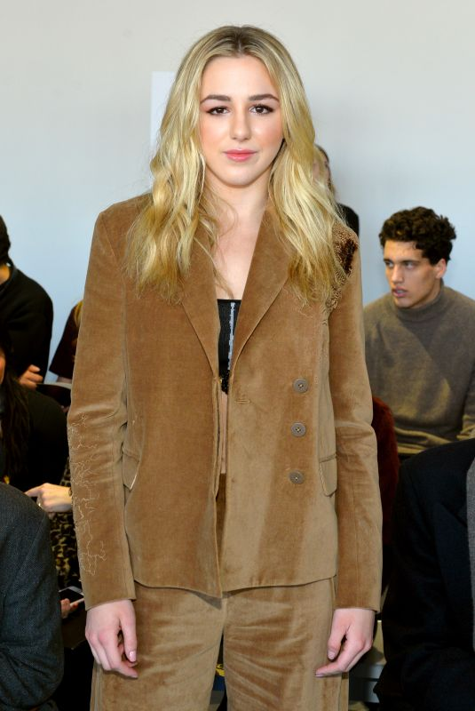 CHLOE LUKASIAK at Noon by Noor Fashion Show at New York Fashion Week 02/08/2018
